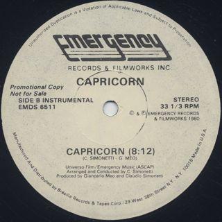 Capricorn / Capricorn back