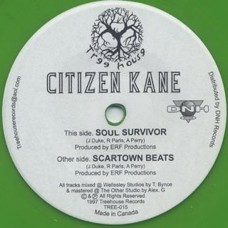 Citizen Kane / Soul Survivor front