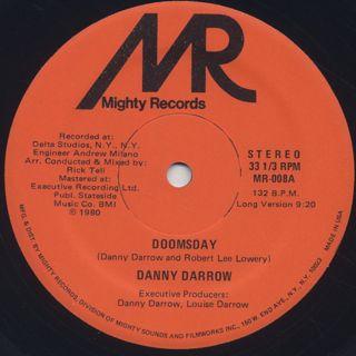 Danny Darrow / Doomsday label
