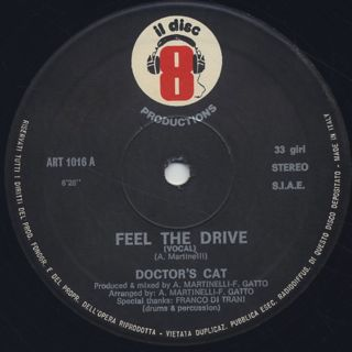 Doctor's Cat / Feel The Drive label