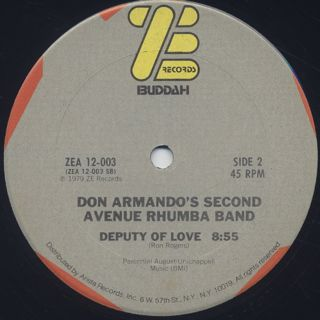 Don Armando's Second Avenue Rhumba Band / I'm An Indian, Too label