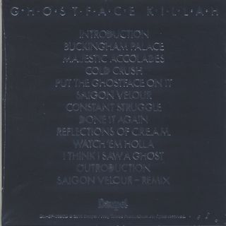 Ghostface Killah / The Lost Tapes (CD) back