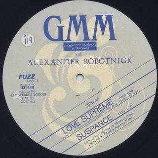 Giovanotti Mondani Meccanici with Alexander Robotnick / Don't Ask Me Why label