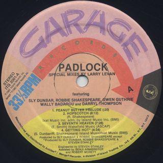 Gwen Guthrie / Padlock label