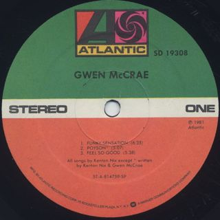 Gwen McCrae / S.T. label