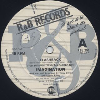 Imagination Flashback 12inch R Amp B Records 中古レコード通販