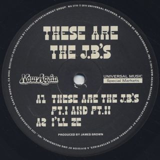 J.B.'s / These Are The J.B.'s label
