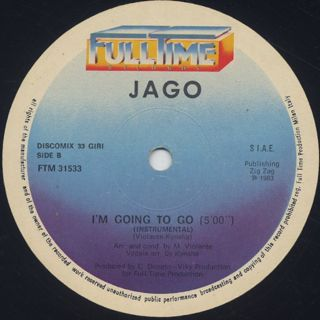 Jago / I'm Going To Go label