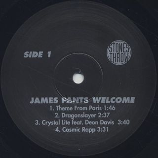 James Pants / Welcome label