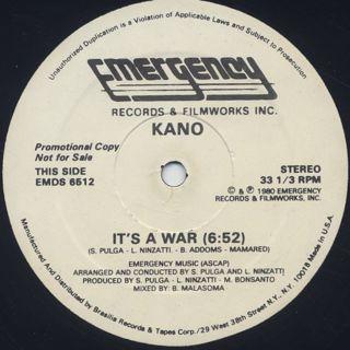 Kano / It's A War c/w Ahjia