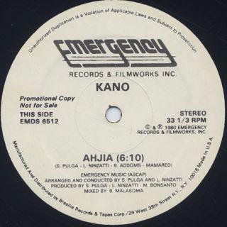 Kano / It's A War c/w Ahjia back