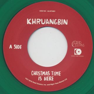 Khruangbin / Christmas Time Is Here label