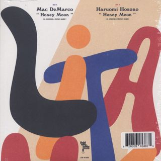 Mac De Marco / Honey Moon c/w Haruomi Hosono / Honey Moon back