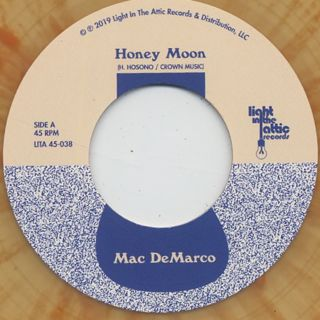 Mac De Marco / Honey Moon c/w Haruomi Hosono / Honey Moon label