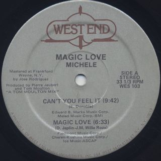 Michele / Magic Love label