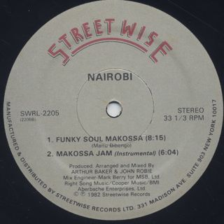 Nairobi And The Awesome Foursome / Funky Soul Makossa back