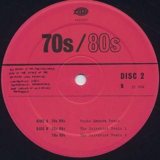 Nightmares On Wax / 70s/80s (Remixes) label