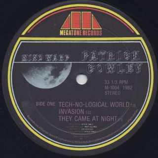 Patrick Cowley / Mind Warp label