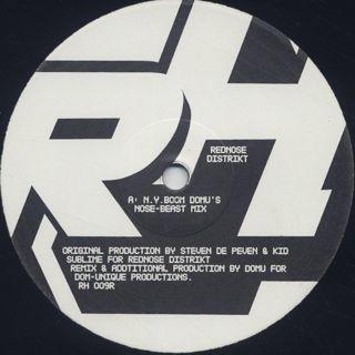 Rednose Distrikt / N.Y.Boom (Domu Remixes) label