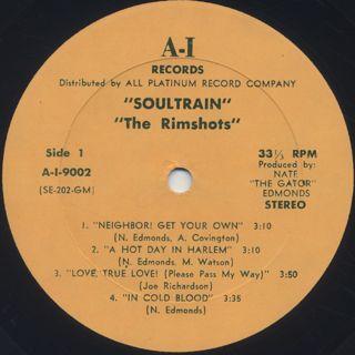 Rimshots / Soul Train label