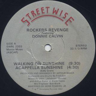 Rocker's Revenge / Walking On Sunshine
