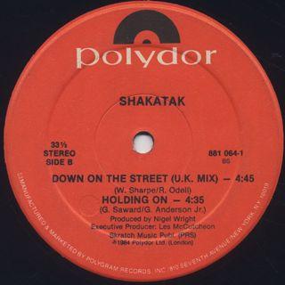 Shakatak / Down On The Street label