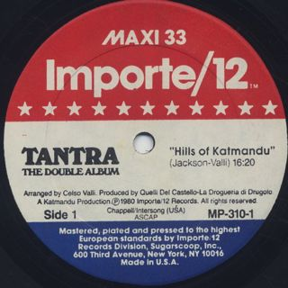 Tantra / The Double Album label