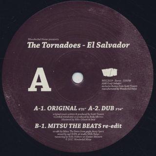 Tornadoes / El Salvador c/w DJ Mitsu The Beats Edit back