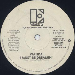 Wanda / I Must Be Dreamin' back