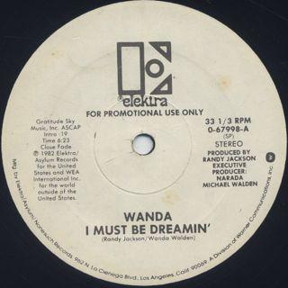 Wanda / I Must Be Dreamin' label