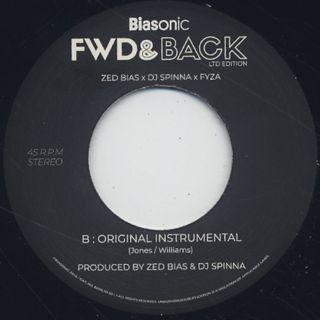 Zed Bias x DJ Spinna x FYZA / Fwd & Back back