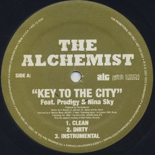 Alchemist / Key To The City front