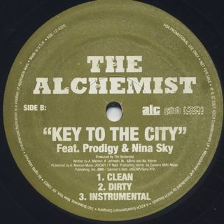 Alchemist / Key To The City back
