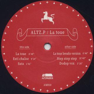 Altz.P / La Toue label