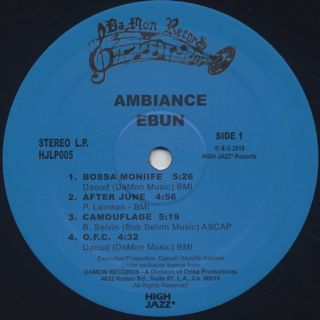 Ambiance / Ebun label