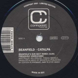 Beanfield / Catalpa c/w Les Gammas / Whenever