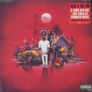 Blu & Oh No / A Long Red Hot Los Angeles Summer Night front