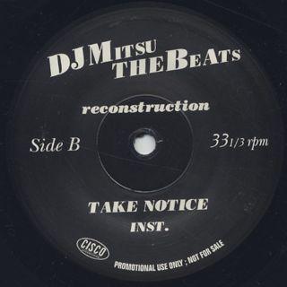 DJ Mitsu The Beats / Reconstruction back
