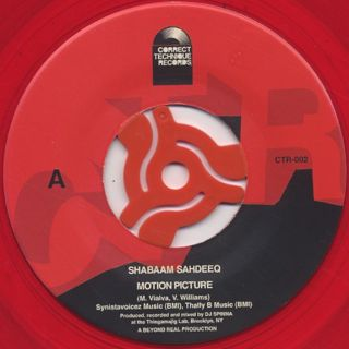 DJ Spinna & Shabaam Sahdeeq / Motion Picture label