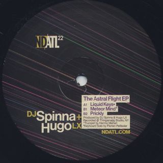 DJ Spinna x Hugo LX / Astral Flight EP back