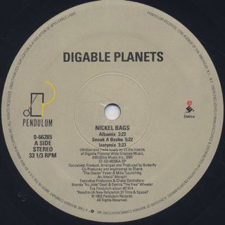 Digable Planets / Nickel Bags label