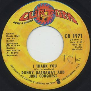 Donny Hathaway And June Conquest / I Thank You c/w Just Another Reason