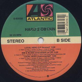 Hard 2 Obtain / Ghetto Diamond label