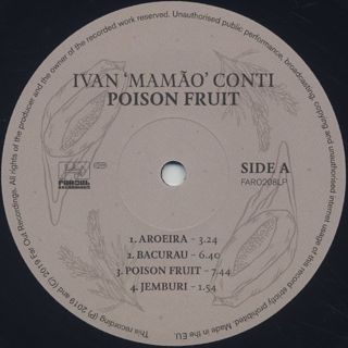 Ivan Conti / Poison Fruit label