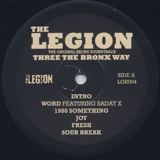 Legion / Three The Bronx Way label