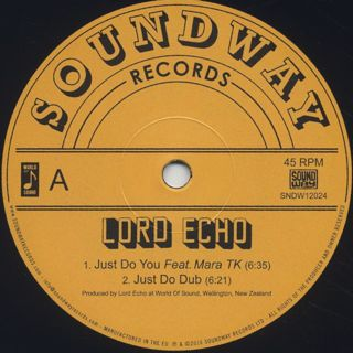 Lord Echo / Just Do You label