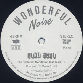 Lord Echo / The Sweetest Meditation (Borrowed CS Remix)
