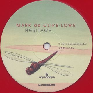 Mark De Clive-Lowe / Heritage label