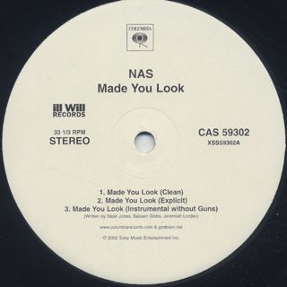 Nas / Made You Look back