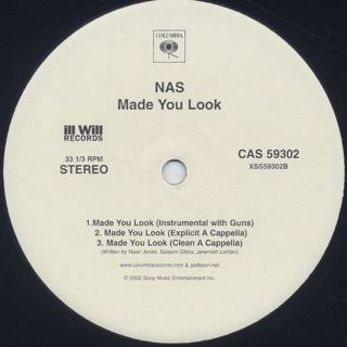 Nas / Made You Look label